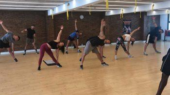 Exercices en salle à Barcelone